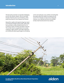 Utilities and Natural Disasters