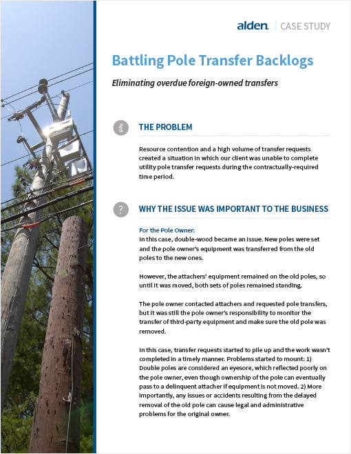 Battling Pole Transfer Backlogs Page 1