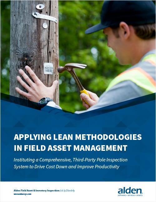 Applying Lean Methodologies in Field Asset Management Cover